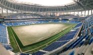 На новом стадионе «Динамо» начались проблемы с газоном
